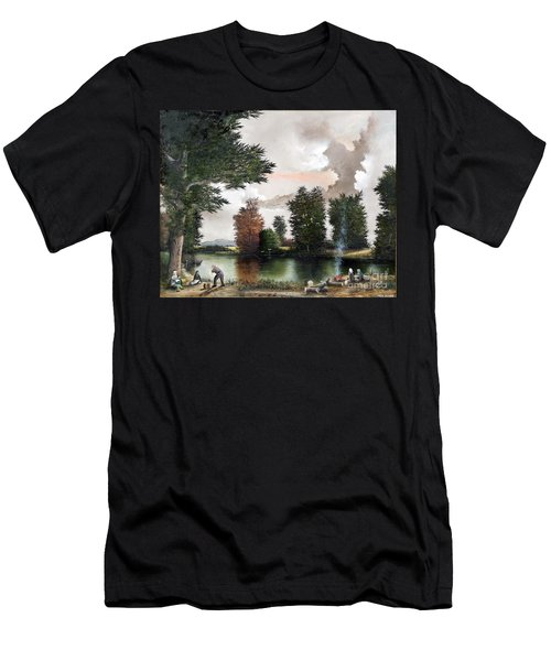 The Picnic Men's T-Shirt (Athletic Fit)