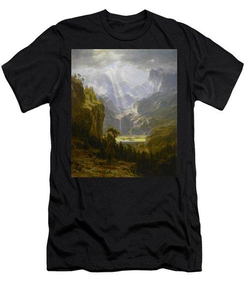 The Rocky Mountains Lander's Peak Men's T-Shirt (Athletic Fit)