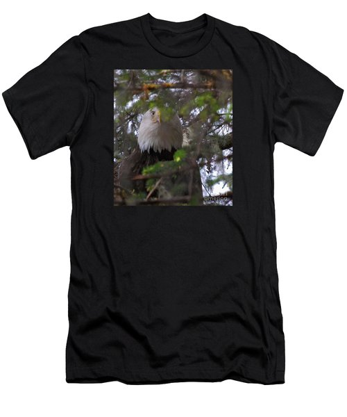 Men's T-Shirt (Slim Fit) featuring the photograph The Watcher by Cynthia Lagoudakis