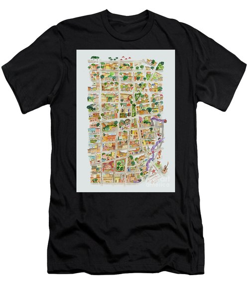 The Way West Village Men's T-Shirt (Athletic Fit)