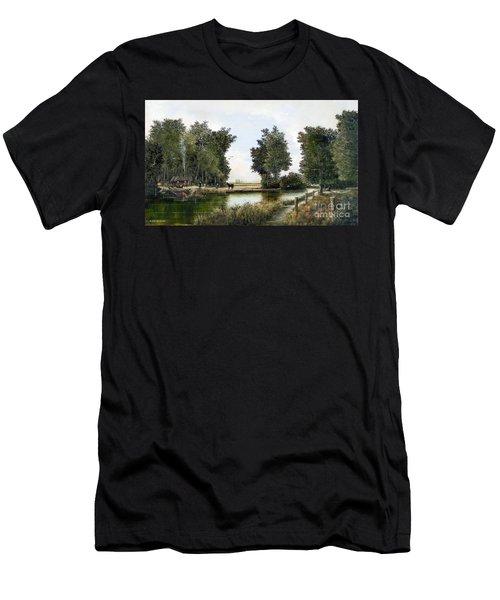 The Woodman Men's T-Shirt (Athletic Fit)