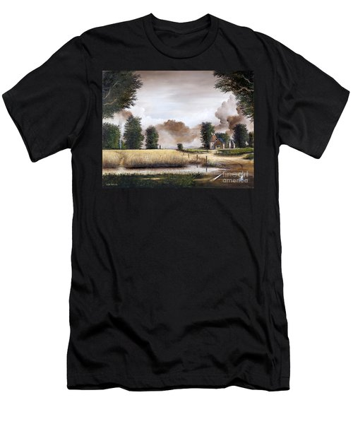 Through The Cornfield Men's T-Shirt (Athletic Fit)