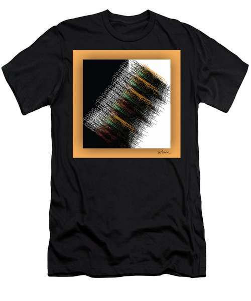 Men's T-Shirt (Athletic Fit) featuring the digital art Tourbillon by Mihaela Stancu