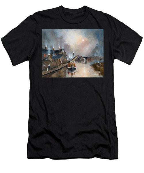 Twilight Departure Men's T-Shirt (Athletic Fit)