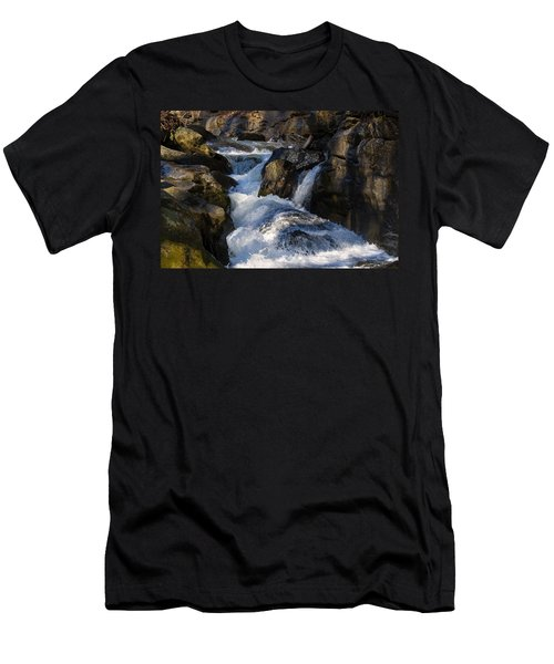 unnamed NC waterfall Men's T-Shirt (Athletic Fit)