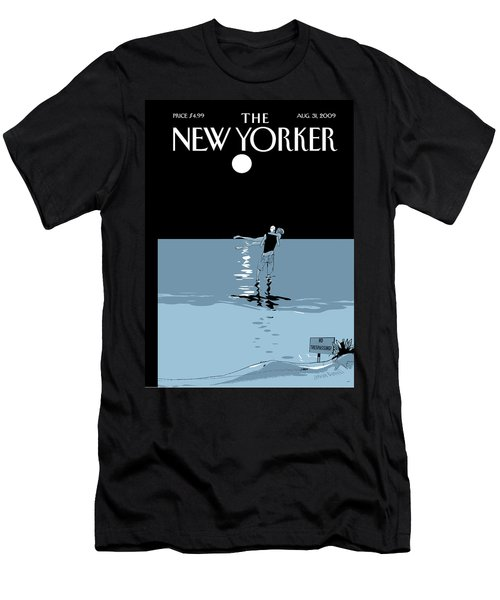 New Yorker August 31st, 2009 Men's T-Shirt (Athletic Fit)