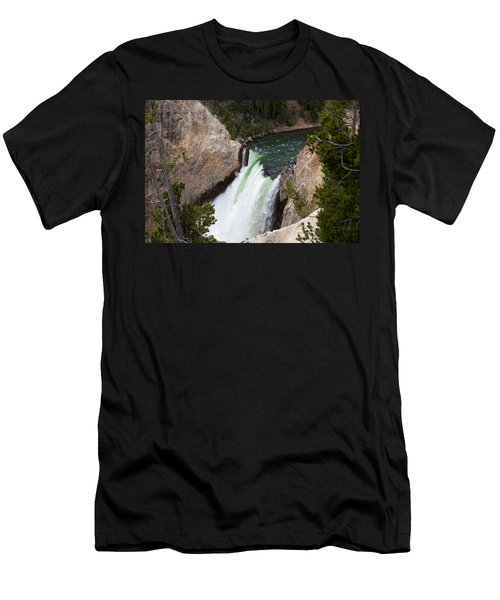 Upper Falls Men's T-Shirt (Athletic Fit)