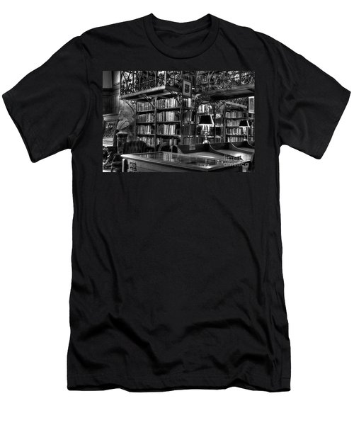 Uris Library Cornell University Men's T-Shirt (Athletic Fit)
