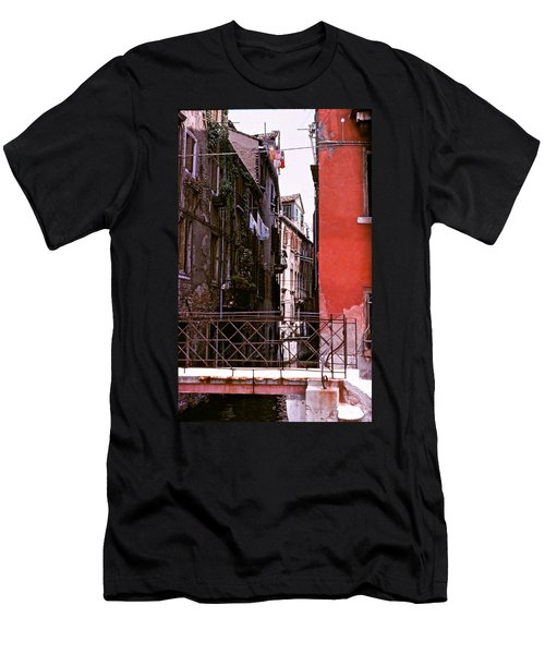 Men's T-Shirt (Slim Fit) featuring the photograph Venice by Ira Shander