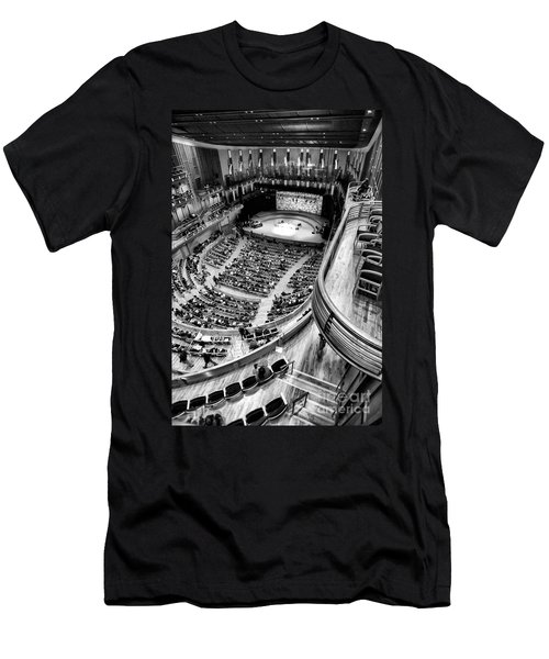 View From The Upper Balcony At Strathmore Music Center Men's T-Shirt (Athletic Fit)