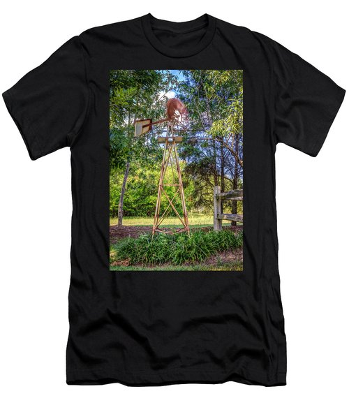 Men's T-Shirt (Slim Fit) featuring the photograph Warm Breeze by Rob Sellers