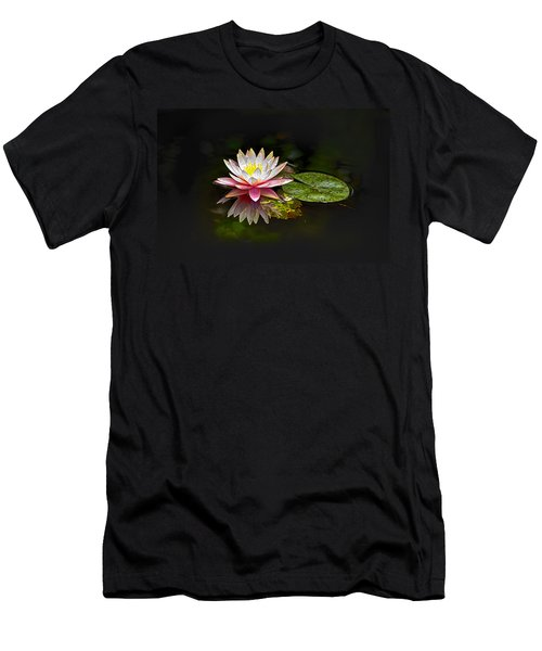 Water Lily Men's T-Shirt (Slim Fit) by Bill Barber