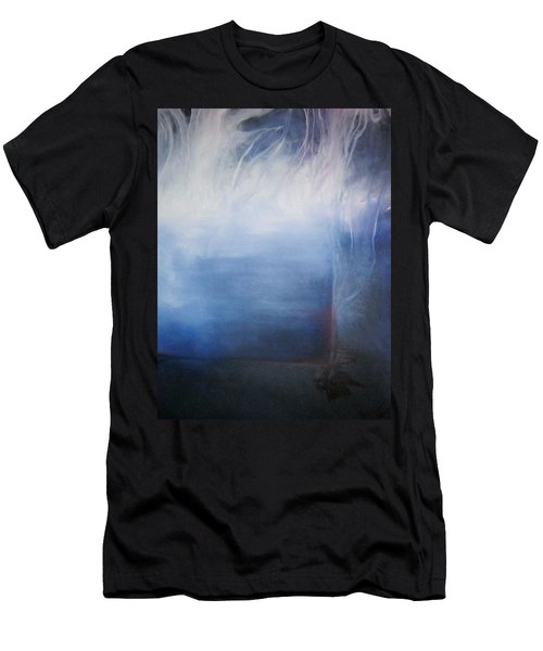 Men's T-Shirt (Slim Fit) featuring the painting YOD by Carrie Maurer