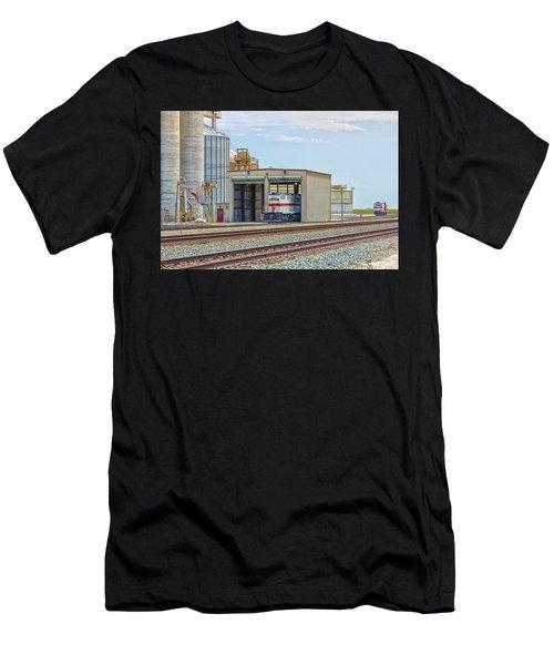 Foster Farms Locomotives Men's T-Shirt (Athletic Fit)