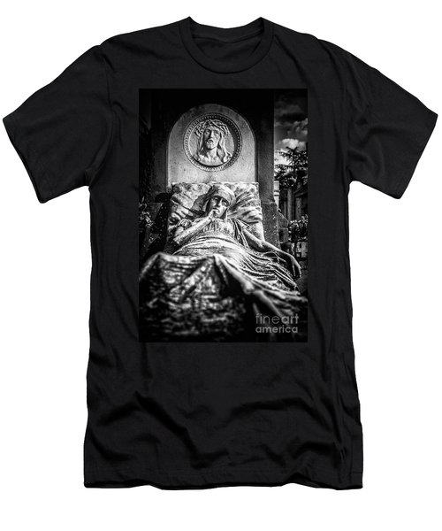 Cemetery Of Mantova Men's T-Shirt (Athletic Fit)