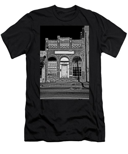 104 South Washington Men's T-Shirt (Slim Fit) by Mark Alder