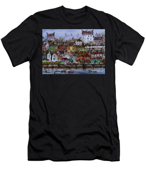 107 Windows Of Kinsale Co Cork Men's T-Shirt (Athletic Fit)