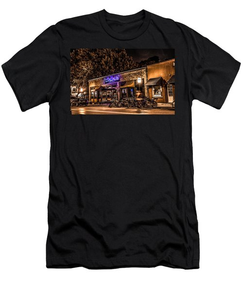 Men's T-Shirt (Slim Fit) featuring the photograph 11th St. Precinct by Ray Congrove