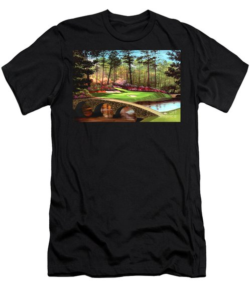12th Hole At Augusta  Men's T-Shirt (Slim Fit)