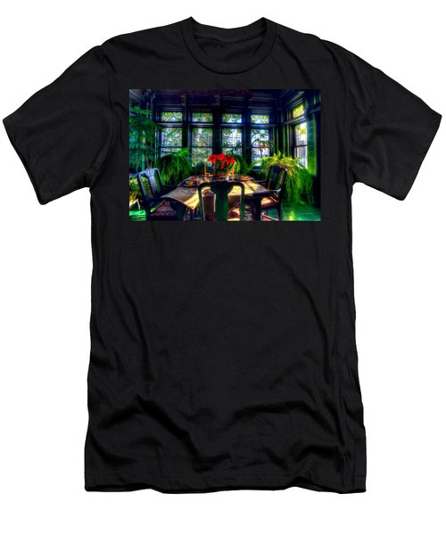 Glensheen Mansion Duluth Men's T-Shirt (Slim Fit) by Amanda Stadther