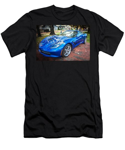 2014 Chevrolet Corvette C7 Men's T-Shirt (Athletic Fit)