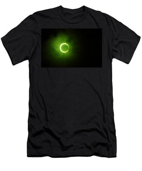 15 January 2010 Solar Eclipse Maldives Men's T-Shirt (Athletic Fit)