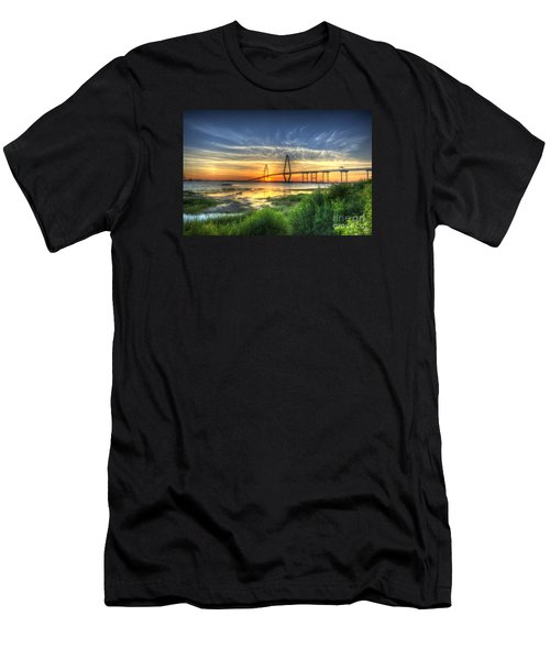 Lowcountry Sunset Men's T-Shirt (Athletic Fit)