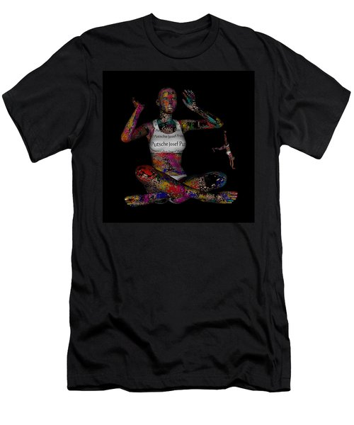 The Future Of Psychedelic Society Men's T-Shirt (Athletic Fit)