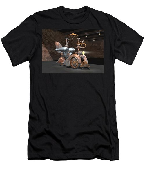 1898 Steam Scooter Men's T-Shirt (Athletic Fit)