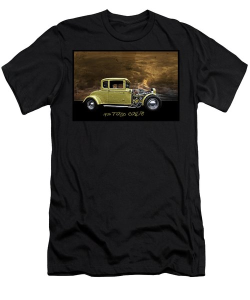 Men's T-Shirt (Slim Fit) featuring the digital art 1930 Ford Coupe by Richard Farrington