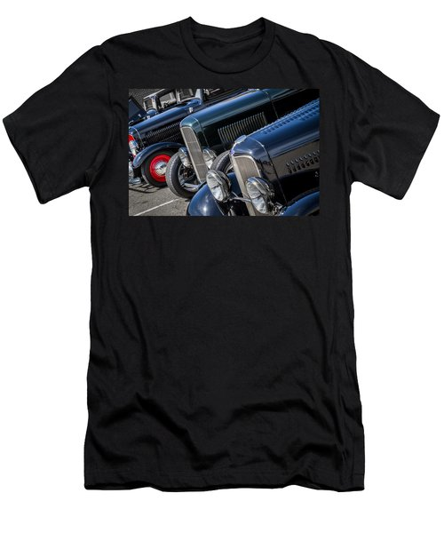 1932 Ford Roadster Coupes With Louvered Hoods Men's T-Shirt (Athletic Fit)