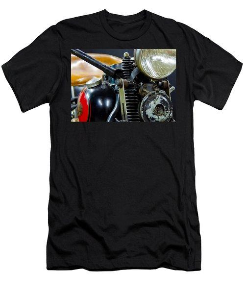 1936 El Knucklehead Harley Davidson Motorcycle Men's T-Shirt (Slim Fit) by Wilma  Birdwell
