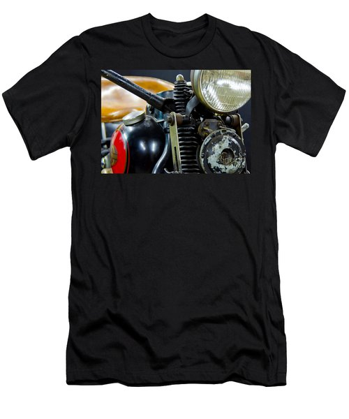 1936 El Knucklehead Harley Davidson Motorcycle Men's T-Shirt (Athletic Fit)
