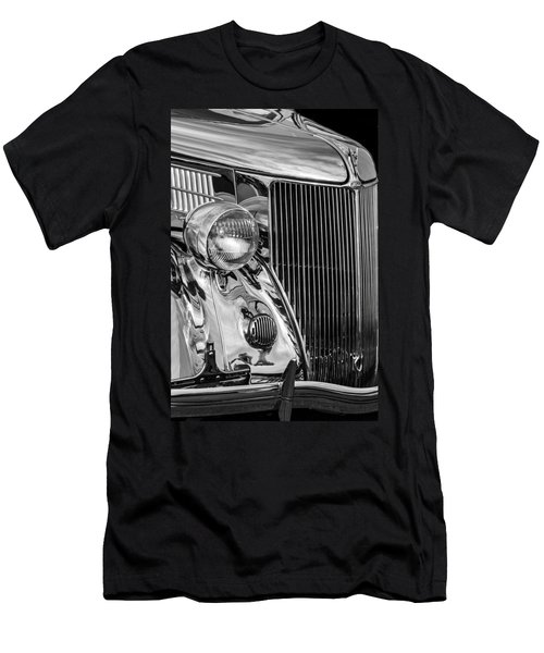 1936 Ford Stainless Steel Grille -0376bw Men's T-Shirt (Athletic Fit)