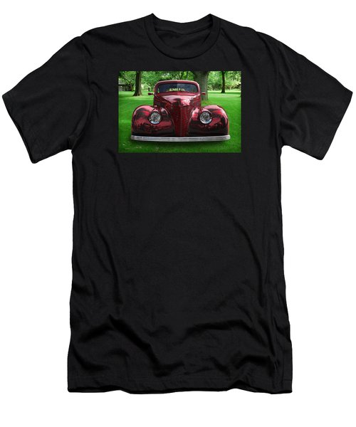 Men's T-Shirt (Slim Fit) featuring the digital art 1938 Ford Coupe by Richard Farrington