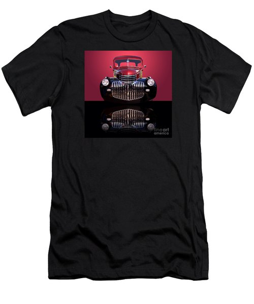 1946 Chevy Panel Truck Men's T-Shirt (Slim Fit) by Jim Carrell