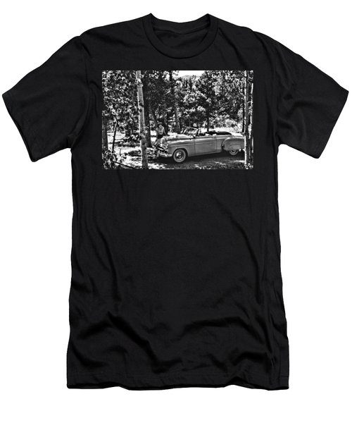 1950's Cadillac Men's T-Shirt (Athletic Fit)