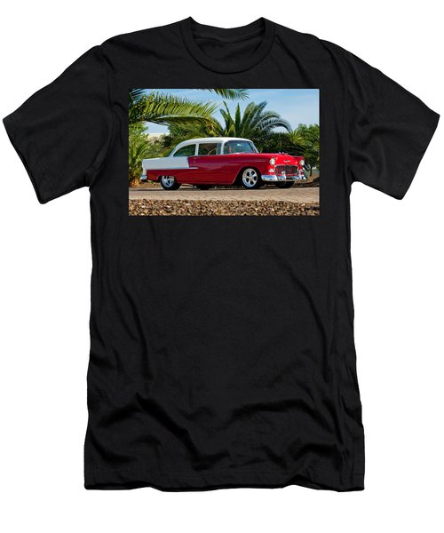 1955 Chevrolet 210 Men's T-Shirt (Athletic Fit)