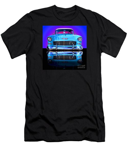1955 Chevy Bel Air Men's T-Shirt (Slim Fit) by Jim Carrell