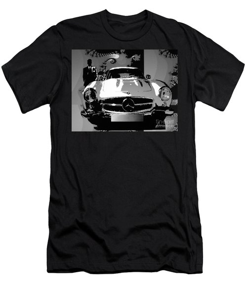 1956 Mercedes Benz 300 Sl Gullwing Men's T-Shirt (Athletic Fit)