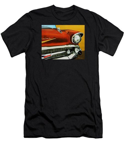 1957 Chevy - Coppertone Men's T-Shirt (Athletic Fit)