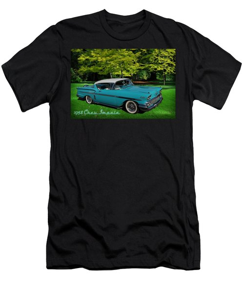 1958 Chev Impala Men's T-Shirt (Athletic Fit)