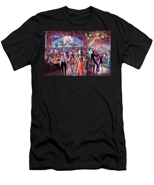 1960's Dance Scene Men's T-Shirt (Athletic Fit)