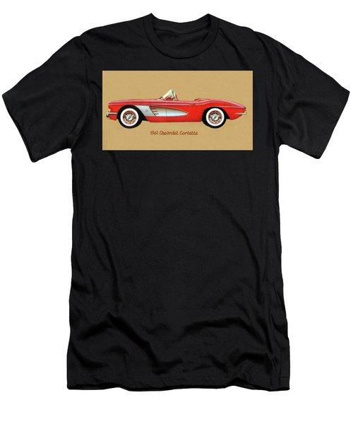 1961 Chevrolet Corvette Men's T-Shirt (Athletic Fit)