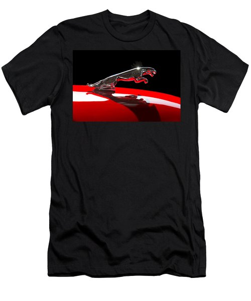 1961 Jaguar Kougar Hood Ornament -0569c Men's T-Shirt (Athletic Fit)