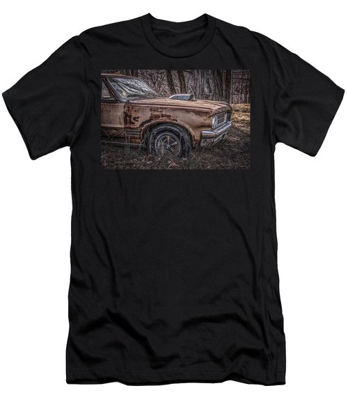 Men's T-Shirt (Slim Fit) featuring the photograph 1964 Pontiac by Ray Congrove