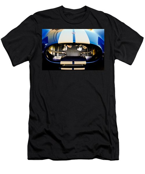 Men's T-Shirt (Athletic Fit) featuring the photograph 1965 Shelby Cobra Grille by Jill Reger