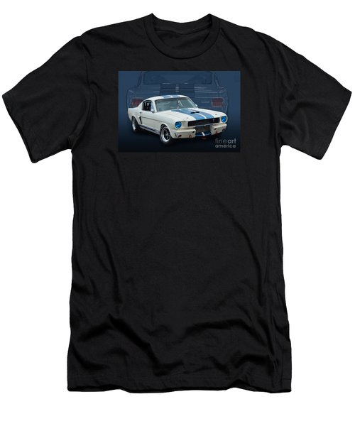 1966 Shelby Gt350 Men's T-Shirt (Athletic Fit)