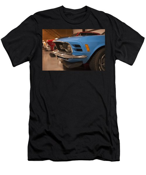 1970 Mustang Mach 1 And Other Classics Hidden In A Garage Men's T-Shirt (Athletic Fit)