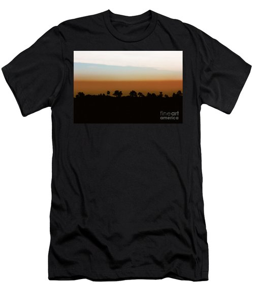 Men's T-Shirt (Slim Fit) featuring the photograph 1974 by Dana DiPasquale